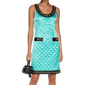 MOSCHINO COUTURE SS15 Runway Quilted Dress